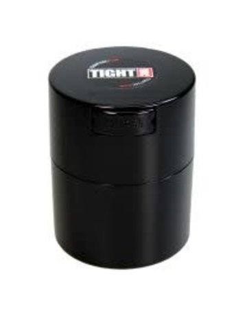 Tightvac TV2-B:  BLACK 3oz TIGHTVAC STORAGE JAR