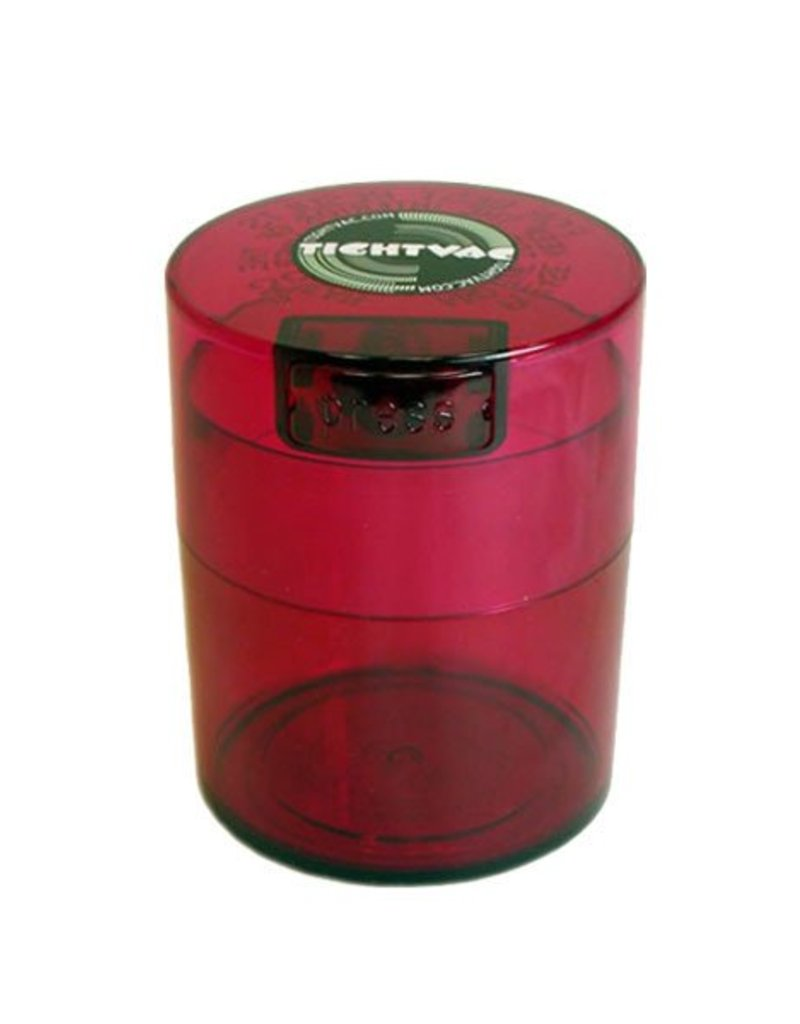 Tightvac Colored Tint 3oz Tightvac - Air Tight Waterproof Smell Proof Storage Jar With Lid