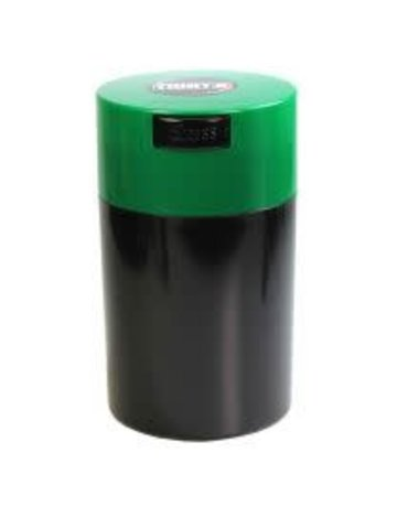 Tightvac TV3-B: BLACK 6oz TIGHTVAC STORAGE JAR
