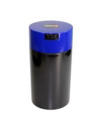 Tightvac TV4-B: BLACK 12oz TIGHTVAC STORAGE JAR