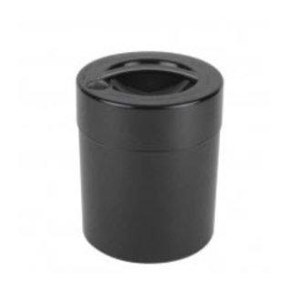 Tightvac Black Kilovac - Air Tight Waterproof Smell Proof Storage Jar With Lid From Tightvac