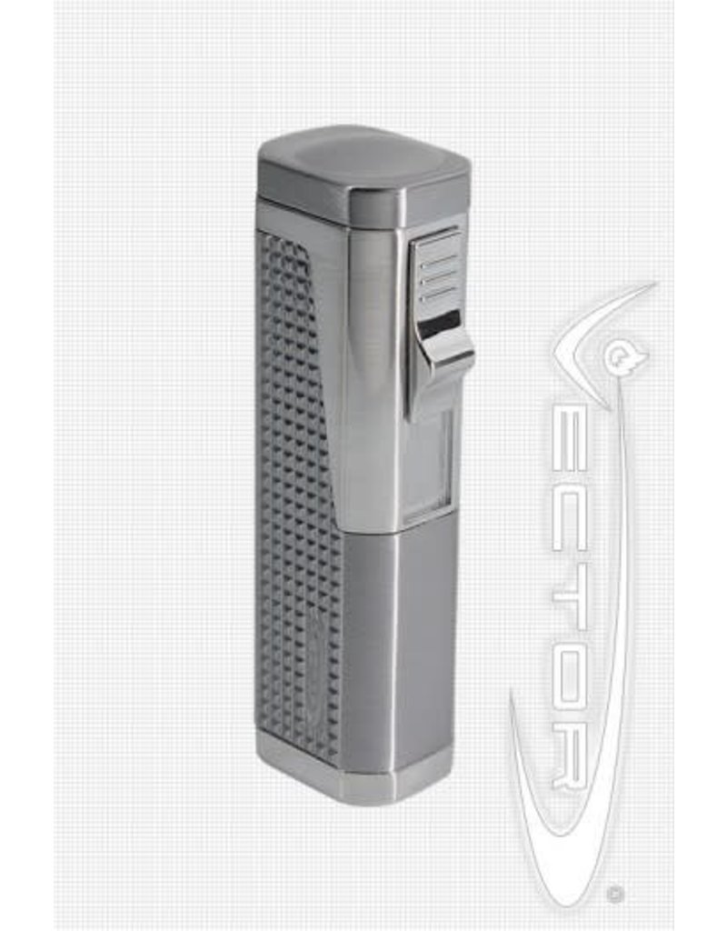 Vector KGM Urbano: 3-flame Vector Butane Torch Lighter