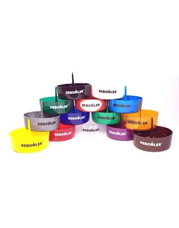 Debowler PLASTIC ASHTRAY WITH BUILT-IN SPIKE