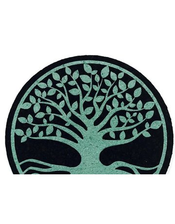 Moodmats MOODMAT8TOL: MOOD MAT 8INCH TREE OF LIFE