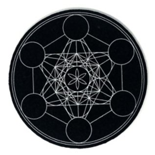 Moodmats Mood Mats 8 Inch Metatrons Jewel Rubber Pad