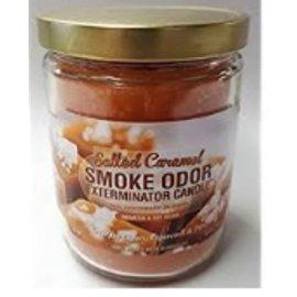 Smoke Odor Exterminator SALTED CARAMEL-CANDLE: SALTED CARAMEL CANDLE