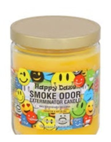 Smoke Odor Exterminator HAPPYDAZE-CANDLE: HAPPY DAZE CANDLE