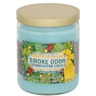 Smoke Odor Exterminator Sparkling Juniper - Smoke Odor Eliminator Candle