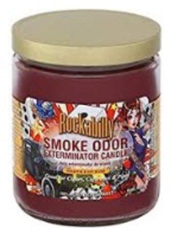 Smoke Odor Exterminator ROCKABILLY-CANDLE: ROCKABILLY SPLASH CANDLE