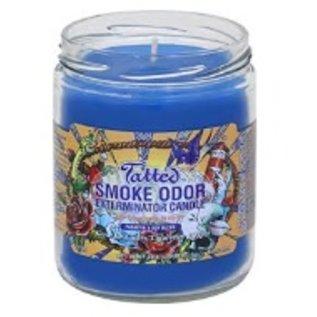 Smoke Odor Exterminator Tatted Candle - Smoke Odor Eliminator Candle