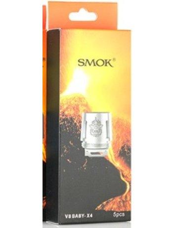 SMOKTECH 5PACK V8BABY-Q2COIL: 5PACK V8 BABY Q2 COIL .4