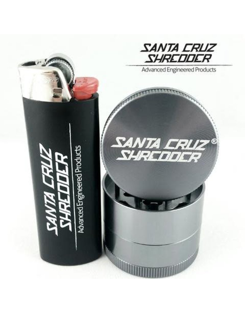 Santa Cruz Shredder 1.5 Inch Mini/small 4-piece Santa Cruz Shredder Grinder