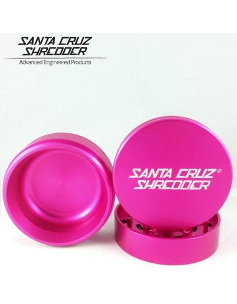 Santa Cruz Shredder 2 Inch 3-piece Santa Cruz Shredder Grinder