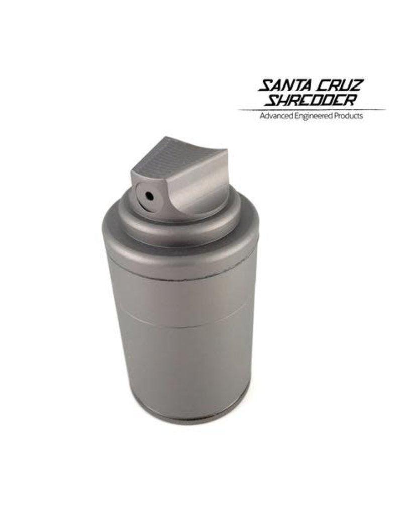 Santa Cruz Shredder 3 Piece 1.5 Inch Small Spray Can - Santa Cruz Shredder Grinder