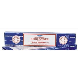NAG15-REIKI: REIKI NAG CHAMPA INCENSE - 15GM BOX