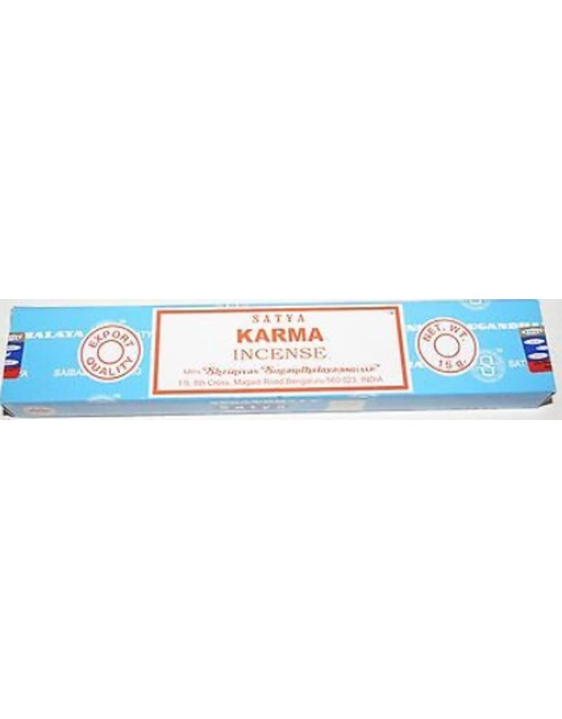 "Satya ""Karma"" Incense - 15gm Box"