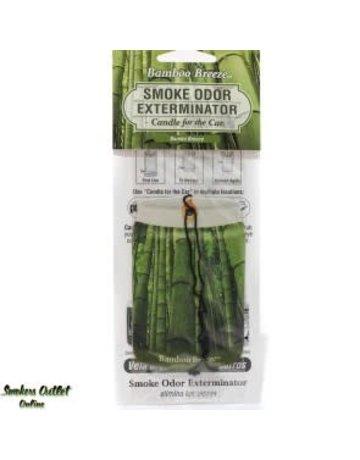 Smoke Odor Exterminator BAMBOO-CARFRESH: BAMBOO BREEZE - CAR FRESHENER