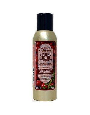 Smoke Odor Exterminator CRANBERRY-SPRAY: SUGARED CRANBERRY - ROOM SPRAY