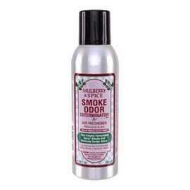 Smoke Odor Exterminator MULBERRY-SPRAY: MULBERRY & SPICE - ROOM SPRAY