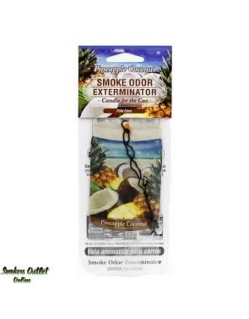 Smoke Odor Exterminator Pineapple Coco - Car Freshener - Smoke Odor Exterminator