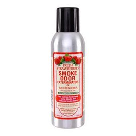 Smoke Odor Exterminator STRAW-SPRAY: STRAWBERRY - ROOM SPRAY