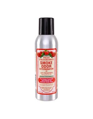 Smoke Odor Exterminator STRAW-SPRAY: STRAWBERRY - ROOM SPRAY