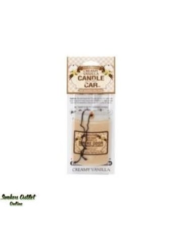 Smoke Odor Exterminator VAN-CARFRESH: CREAMY VANILLA - CAR FRESHENER