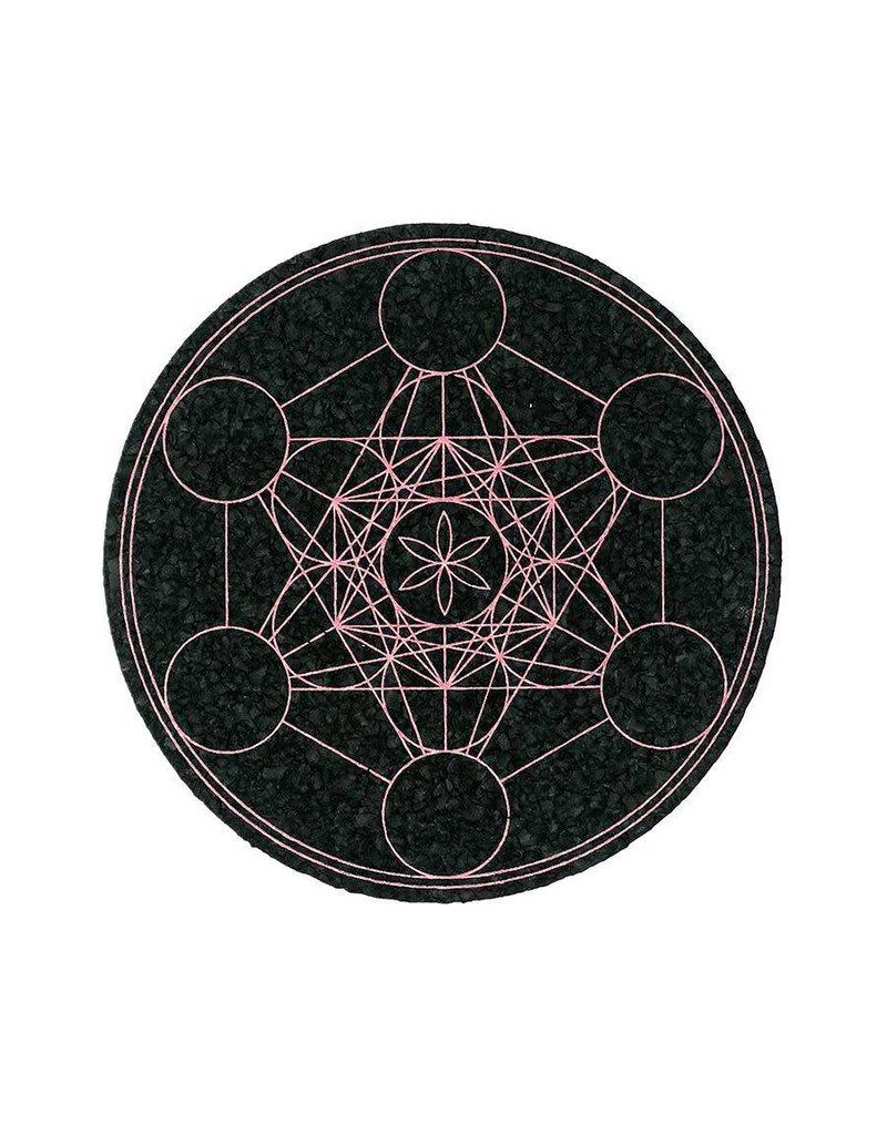 Moodmats Mood Mats 8 Inch Metatrons Copper Rubber Pad