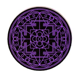 Moodmats MOODMAT8SGP: MOOD MAT 8 IN SACRED GEM PURPLE