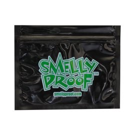 SmellyProof SPB-S: BLACK SM SMELLY PROOF SINGLE (6in x 4in)