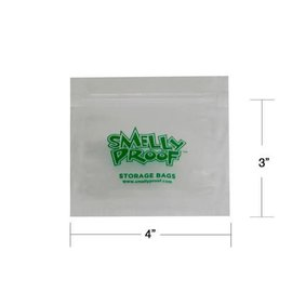 SmellyProof SP-XS: XS SMELLY PROOF BAG - SINGLE (4in x 3in)