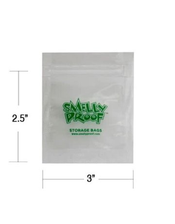SmellyProof SP-XXS: XXS SMELLY PROOF BAG - SINGLE (2.5in x 3in)