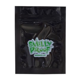 SmellyProof SPB-XXS: BLACK XXS SMELLY PROOF SINGLE (2.5in x 3in)