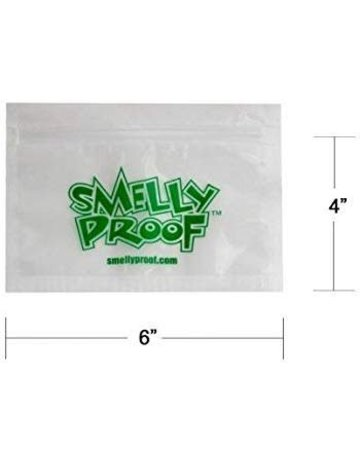SmellyProof SP-S: S SMELLY PROOF BAG - SINGLE (6in x 4in)
