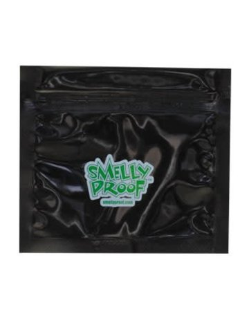 SmellyProof SPB-XS: BLACK XS SMELLY PROOF SINGLE (4inx 3in)