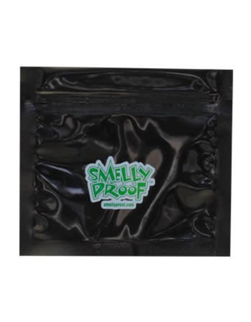 SmellyProof Extra Small Black Smelly Proof Bag - Single (4in x 3in)