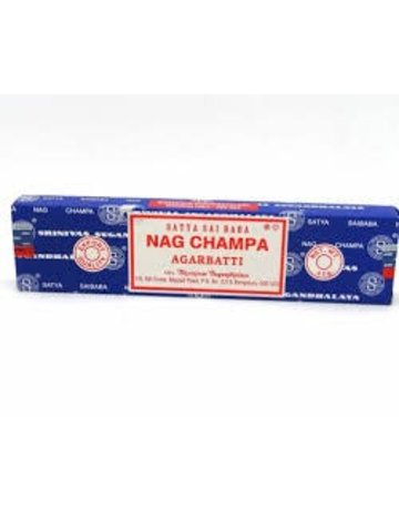 NAG40: NAG CHAMPA INCENSE - 40GM BOX
