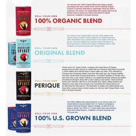 American Spirit INFO PAGE: AMERICAN SPIRITS LOOSE TOBACCO