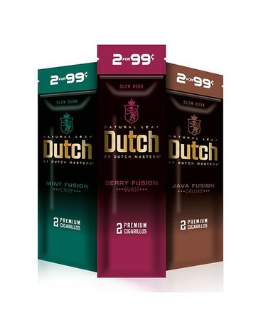 Dutch Masters INFO PAGE: DUTCH MASTER FUSION CIGARILLOS