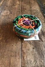Nepal, Silk Coiled Coaster