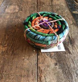 Nepal, Silk Coiled Coaster