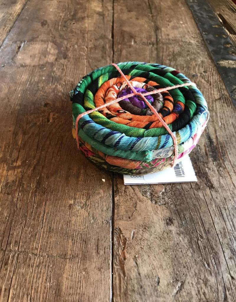 Silk Coiled Coaster