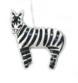 Zebra Ornament 65
