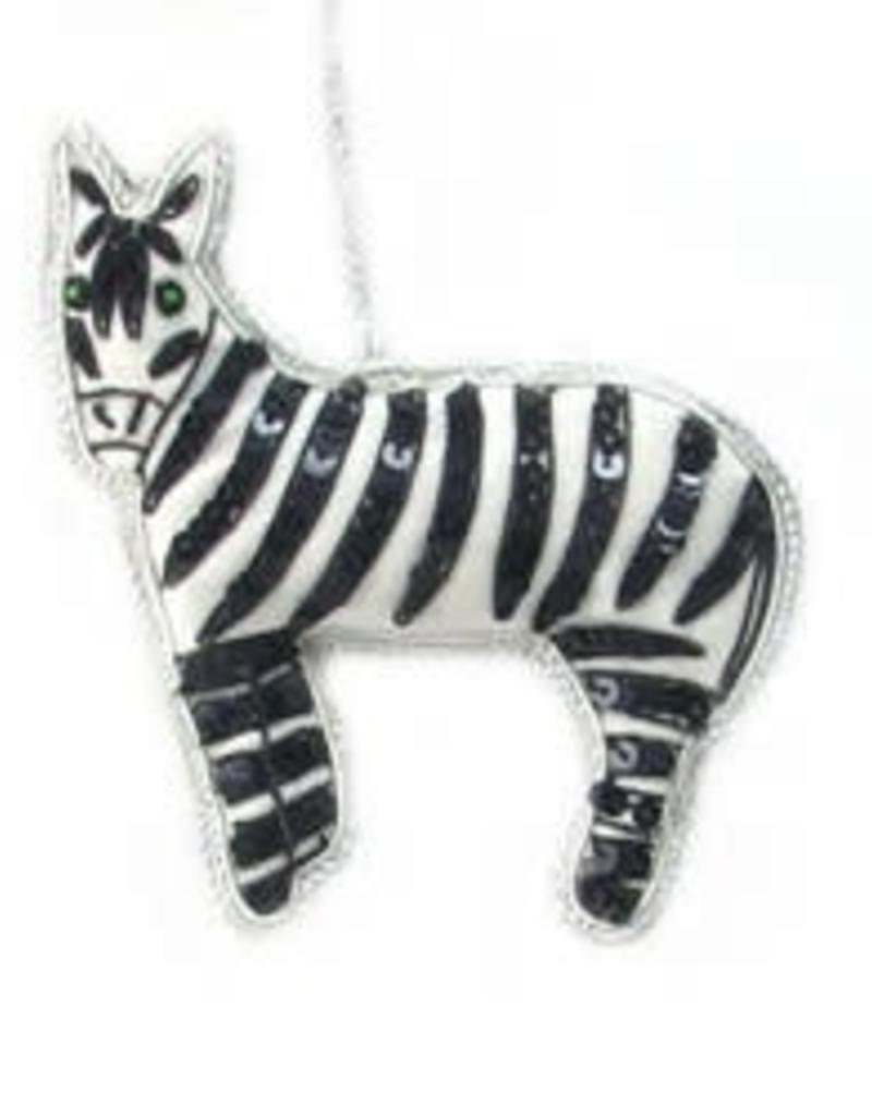 Zebra Ornament 65