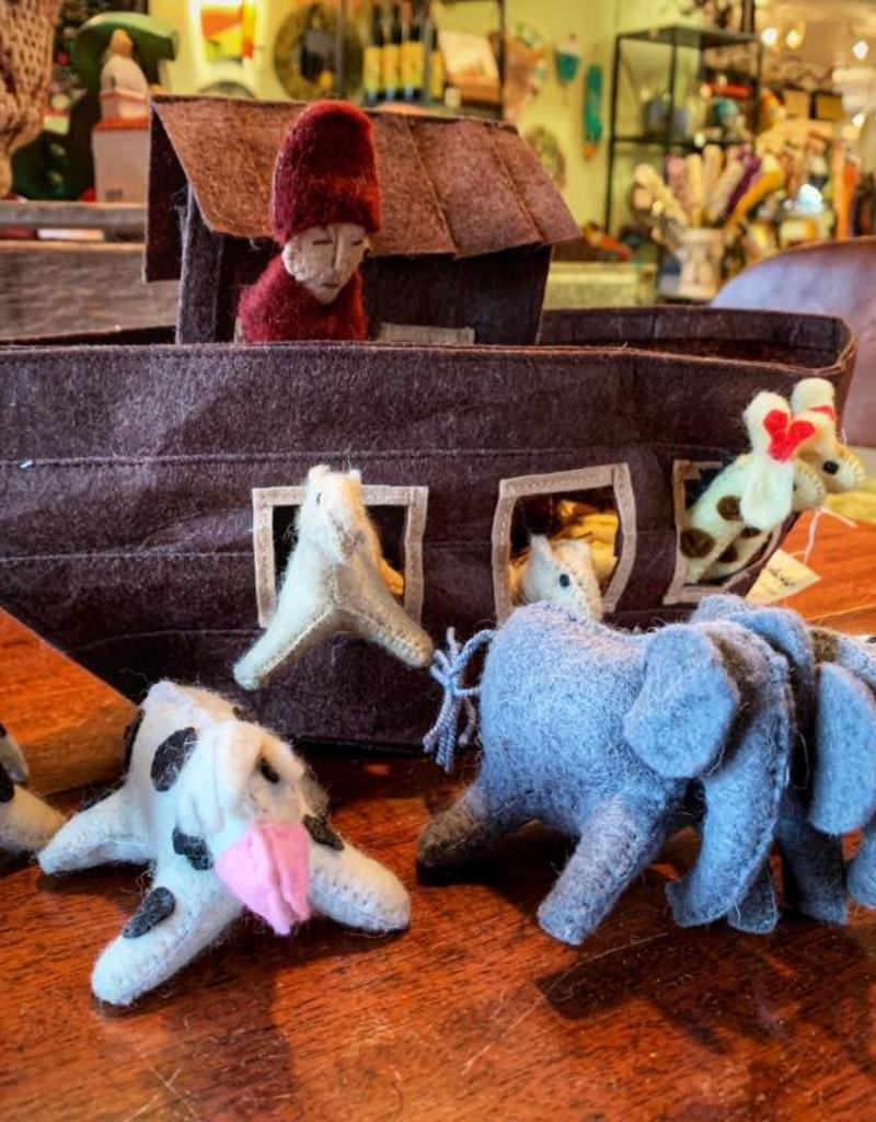 kyrgyzstan, Felted Noah's Ark