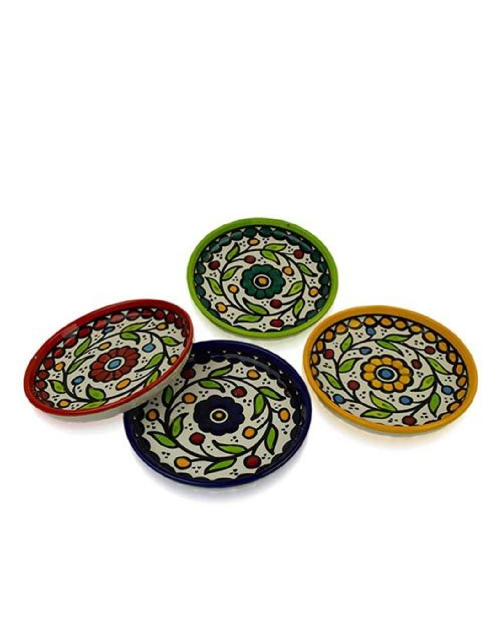 Ceramic  Appetizer Plates, Individual, West Bank