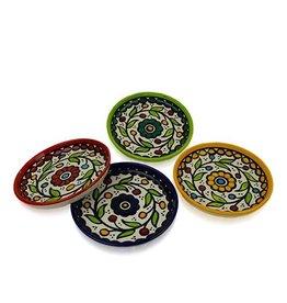 Ceramic  Appetizer Plates, Individual, West Bank