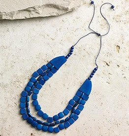 Ecuador, Cobalt Necklace