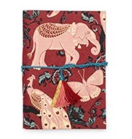 India, Fuana Journal, Red Garden