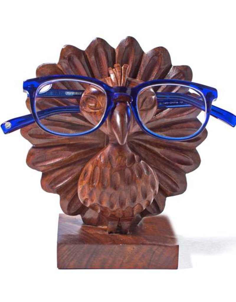 Peacock Eyeglass Holder 18